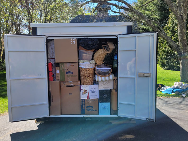 Tips for Long Term Storage Using a Portable Container